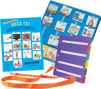 pecs communication book combo pack with pecs 151 cards different roads