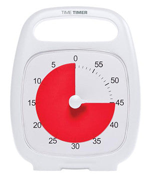 Time Timer PLUS in White