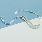 Sterling Silver Elegant Ball Bracelet Wholesale Lots 2