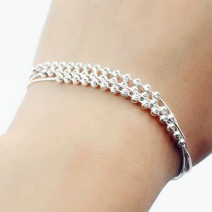 Sterling Silver Elegant Ball Bracelet Wholesale Lots