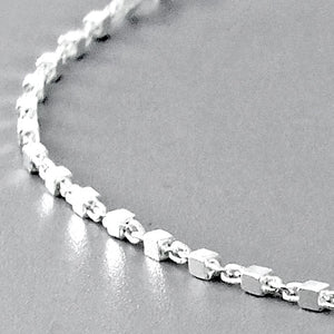 5pcs/Lot Sterling Silver Italian Chain Bracelet Wholesale Lots