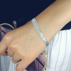 Sterling Silver Bead Chain Bracelet Wholesale Lots