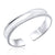 Women's S999 Sterling Silver Polished Bangle Wholesale 2