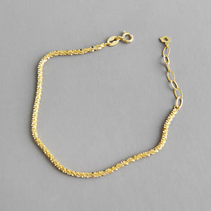 14K Gold Plated Cute Charm Dainty Bracelet Wholesale