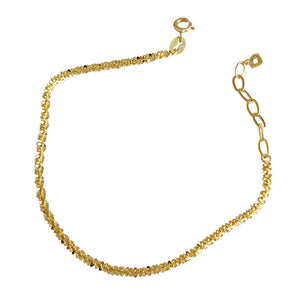 14K Gold Plated Cute Charm Dainty Bracelet Wholesale 5