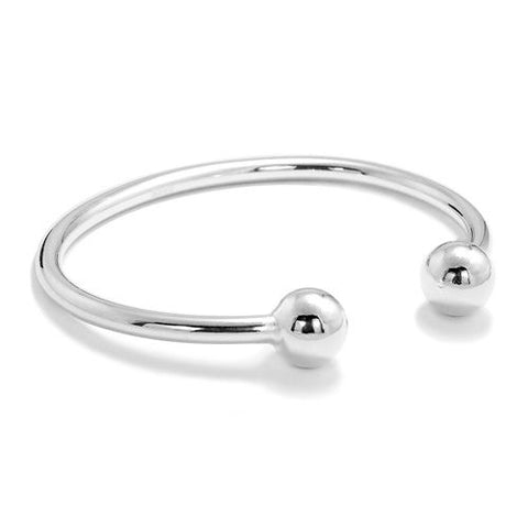10 mm Silver Ball Torque Bangle Wholesale Lots