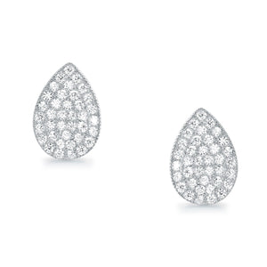 5ps/Lot Elegant Drip Type Sterling Silver Cubic Zirconia Earrings Wholesale - SilverLots
