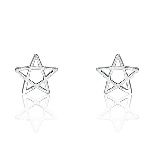 Star Sterling Silver Fashion Earrings Wholesale Lots