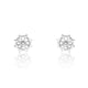 5ps/Lot Sterling Silver Fashion Rudder Earrings Wholesale