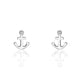 Sterling Silver Fashion Anchor Earrings Wholesale Lots