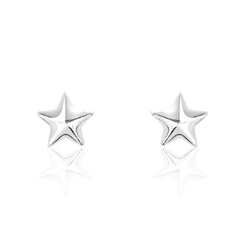 Sterling Silver Tiny Star Earrings Wholesale Lots