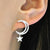 Big Moon and Star Earrings Dangle Wholesale 2