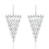 Statement Marquise CZ Triangle Earrings Dangle Wholesale