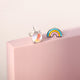 Rainbow and Unicorn 925 Sterling Silver Stud Earring Wholesale 3