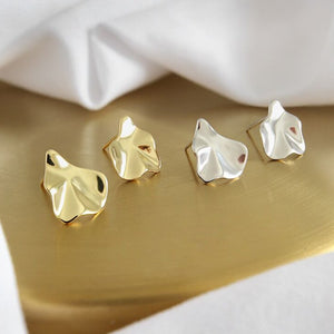 Sterling Silver Irregular Geometric Earrings Studs Wholesale