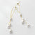Elegant 925 Sterling Silver Pearl Earrings Wholesale