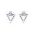 Sterling Silver Clock Drop Earrings Wholesale