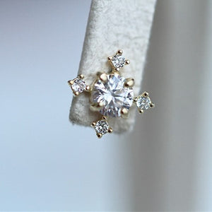 Sparkling CZ Stud Earrings Wholesale Wholesale