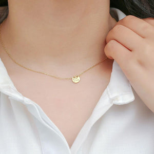 14K Gold Plated Sterling Silver Good Luck Necklace Wholesale 2