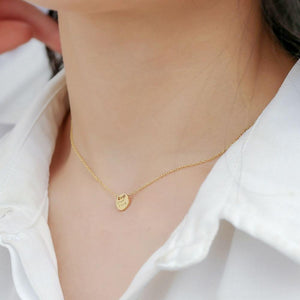 14K Gold Plated Sterling Silver Good Luck Necklace Wholesale 3