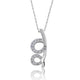 Unique Silver 0.72 Ct CZ Pendant Necklace Wholesale Lots - SilverLots