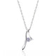 Gracious Sterling Silver CZ Pendant Necklace Wholesale - SilverLots