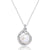 Elegant Sterling Silver Pearl and CZ Necklace Wholesale Lots
