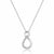Sterling Silver CZ Infinity Necklace Wholesale Lots