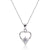 Sterling Silver 0.8 Ct CZ Pendant Necklace Wholesale Lots