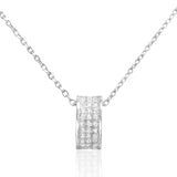Beautiful Sterling Silver CZ Elegant Necklace Wholesale Lots