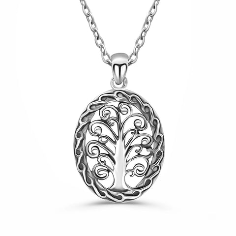 Sterling Silver Tree of Life Pendant Necklace Wholesale Lots