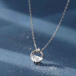 Angel Tear Cubic Zirconia Pendant Necklace Wholesale