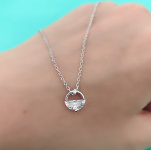 Angel Tear Cubic Zirconia Pendant Necklace Wholesale 2