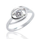 925 Sterling Silver 0.45 Carat CZ Ring Wholesale Lot