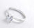 Sterling Silver 1.4 Carat Cubic Zirconia Solitaire Ring Wholesale
