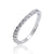 925 Sterling Silver Cubic Zirconia Fashion Ring 1.75 mm CZ Wholesale