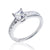 Gorgeous 925 Sterling Silver Princess Cut CZ Ring Wholesale Lots 2