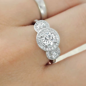 Three Stone Ring Wholesale Lots