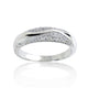 Sterling Silver 0.44 Carat Micro Pave CZ Ring Wholesale Lots