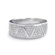 Graceful Micro Pave Setting CZ 925 Sterling Silver Ring Wholesale