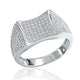 Gorgeous Sterling Silver Micro Pave CZ Beautiful Ring Wholesale