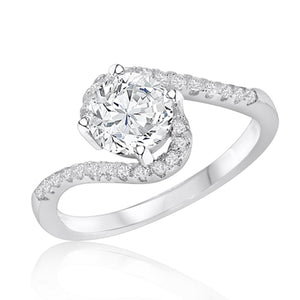Stunning Silver Brilliant Cut CZ Ring Wholesale Lots