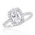 Gorgeous Baguette Cut CZ Sterling Silver Ring Wholesale Lots