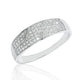 Sterling Silver Micro Pave Settings CZ Ring Wholesale - SilverLots