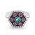 Magnificent Multi Color Sterling Silver Ring Wholesale Lots 2