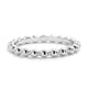 5pcs/Lot Sterling Silver Stackable Bead Ring Wholesale Lots