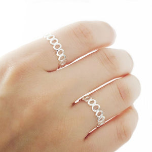 Stackable Sterling Silver Band Ring Wholesale Lots 2