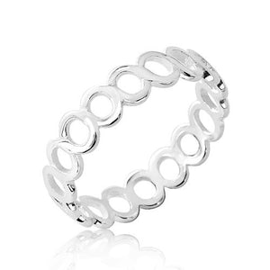 Stackable Sterling Silver Band Ring Wholesale Lots