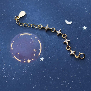 Sparking Star Chain Ring Wholesale Adjustable 2