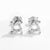 Sterling Silver CZ Stone Earrings Studs Wholesale